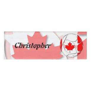 Canada #1 name tag