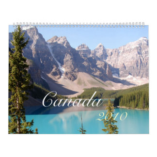 Canada 2012 calendar