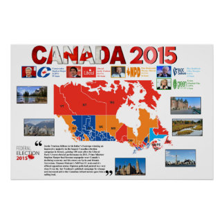 Canada 2015 Election Poster