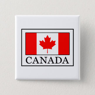 Canada 2 Inch Square Button