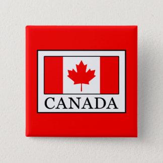 Canada 2 Inch Square Button