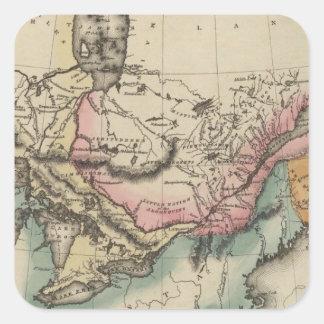 Canada 8 square stickers