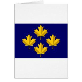 Canada Admiral alternative Flag Card