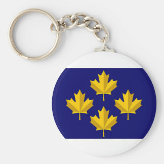 Canada Admiral alternative Flag Keychain