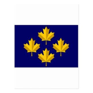 Canada Admiral alternative Flag Postcard