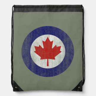 Canada Air Force Maple Leaf insignia backpack