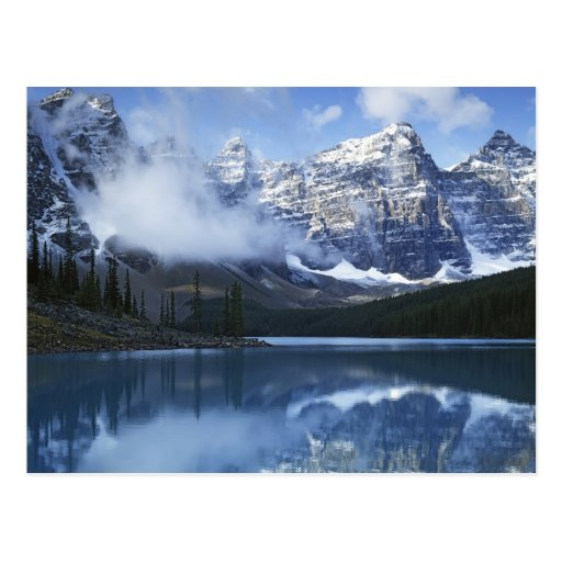 Canada, Alberta, Banff National Park, Lake Postcard