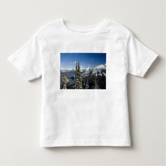 Canada, Alberta, Banff. Views of the Bow Valley T Shirts