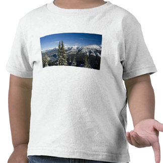 Canada, Alberta, Banff. Views of the Bow Valley T-shirts