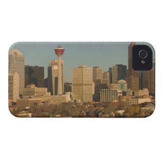 Canada, Alberta, Calgary: City Skyline from 2 iPhone 4 Cover