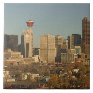 Canada, Alberta, Calgary: City Skyline from 2 Tile