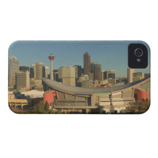 Canada, Alberta, Calgary: City Skyline from 3 iPhone 4 Case