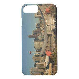 Canada, Alberta, Calgary: City Skyline from 3 iPhone 7 Case