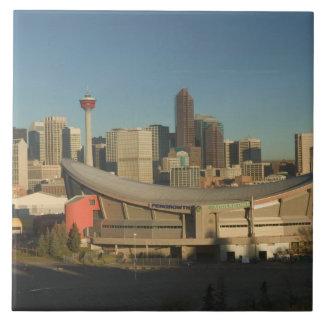 Canada, Alberta, Calgary: City Skyline from 3 Tiles