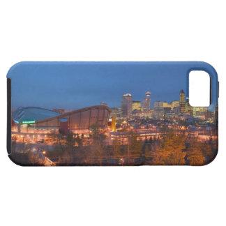 Canada, Alberta, Calgary: City Skyline from 4 iPhone 5 Cover