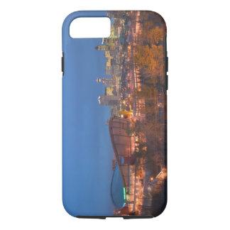 Canada, Alberta, Calgary: City Skyline from 4 iPhone 7 Case