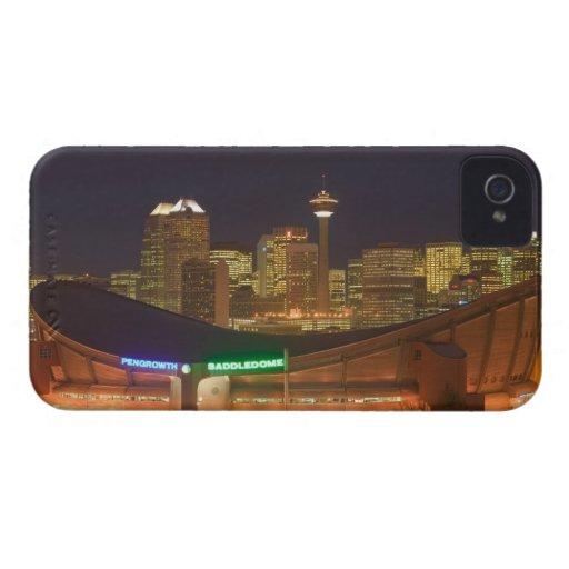 Canada, Alberta, Calgary: City Skyline from Blackberry Bold Case