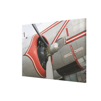 Canada, Alberta, Edmonton: Alberta Aviation Canvas Print