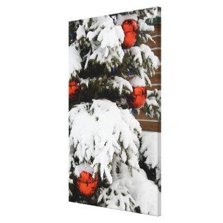 Canada, Alberta, Jasper, Jasper NP. Fairmont 2 Canvas Print