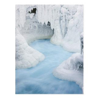 Canada, Alberta, Jasper National Park. The Postcard