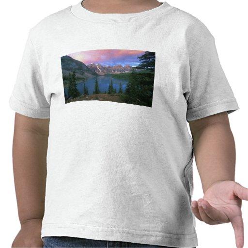 Canada, Alberta, Lake Moraine at Dawn, Banff Shirt