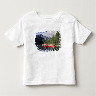 Canada, Alberta, Moraine Lake. The glassy Tee Shirt