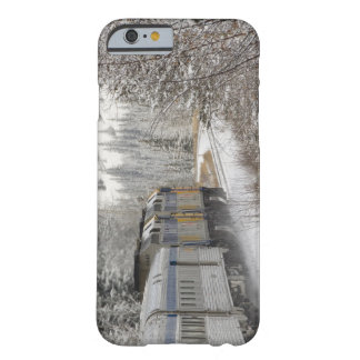 Canada, Alberta. VIA Rail Snow Train between Barely There iPhone 6 Case