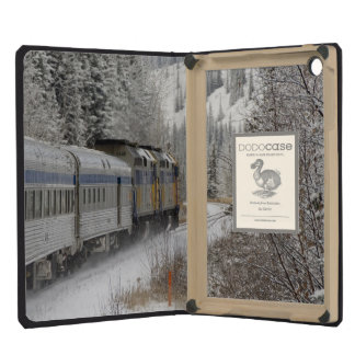 Canada, Alberta. VIA Rail Snow Train between iPad Mini Retina Case
