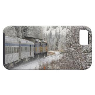 Canada, Alberta. VIA Rail Snow Train between iPhone 5 Case