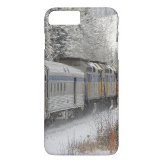 Canada, Alberta. VIA Rail Snow Train between iPhone 7 Plus Case