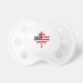 Canada American Pride Baby Pacifier