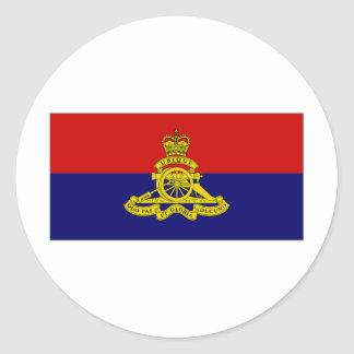 Canada Artillery Branch Camp Flag Sticker