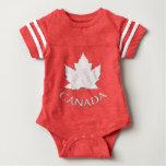 Canada Baby Bodysuit Canada Souvenir Baby Shirts