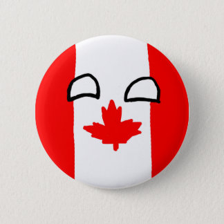 Canada Ball Button