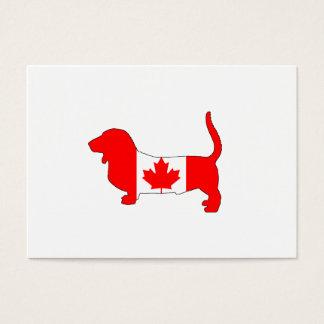 Canada Basset Hound Business Card