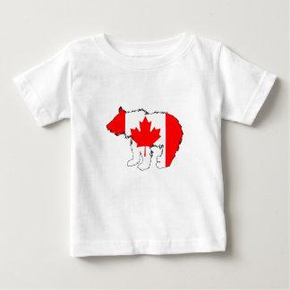 Canada Bear Cub Baby T-Shirt