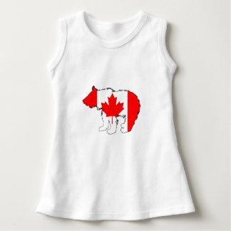 Canada Bear Cub Dress