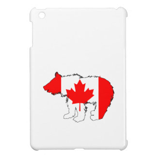 Canada Bear Cub iPad Mini Cover