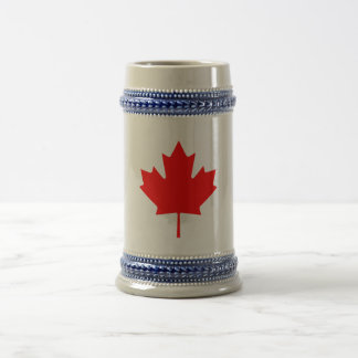 Canada Beer Stein