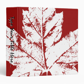Canada Binder Custom Canada Souvenir Binder Album