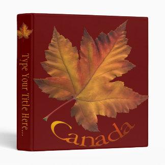 Canada Binder Custom Canada Souvenir Book Binder