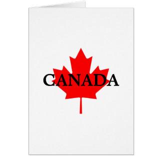 CANADA Blank Note Card