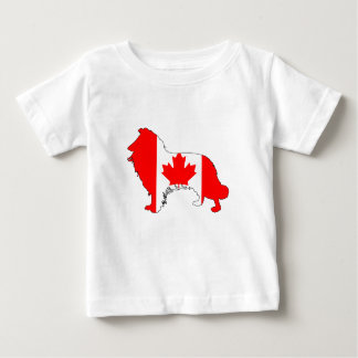 Canada Border Collie Baby T-Shirt