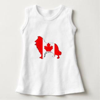 Canada Border Collie Dress