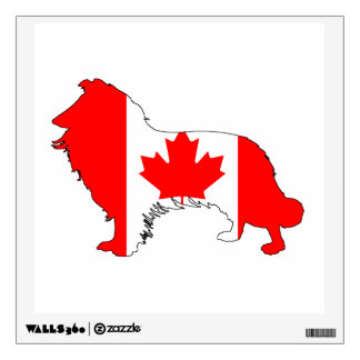 Canada Border Collie Wall Decal