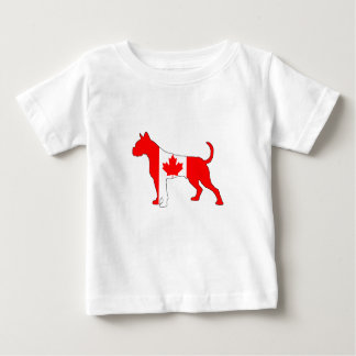 Canada Boxer Baby T-Shirt