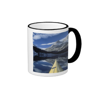 Canada, British Columbia, Banff. Kayak bow on Coffee Mug