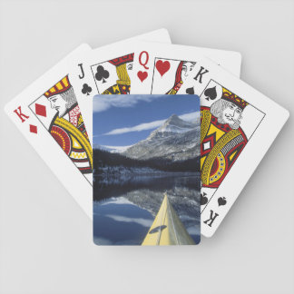 Canada British Columbia Banff Kayak bow on Card Decks