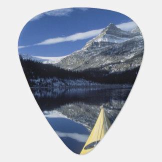 Canada, British Columbia, Banff. Kayak bow on Pick