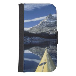 Canada, British Columbia, Banff. Kayak bow on Phone Wallet Cases